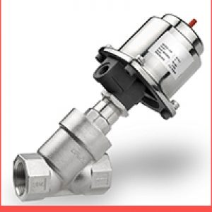 Tri Clover On-Off Type Pneumatic Angle Seat Valves Supplier and Exporter in India