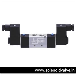 Double Acting Solenoid Valve Supplier & Exporter in Andhra-Pradesh, Madhya-Pradesh, Uttar-Pradesh, Maharashtra, Tamilnadu, Kerala Bangalore, Goa