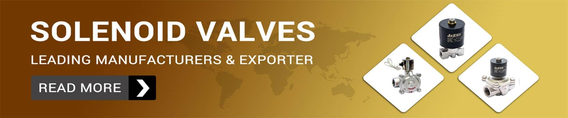 Solenoid Valve Manufacturer and Supplier in Gujarat, India