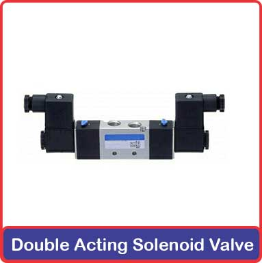 Double Acting Solenoid Valve Supplier and Exporter in Inida